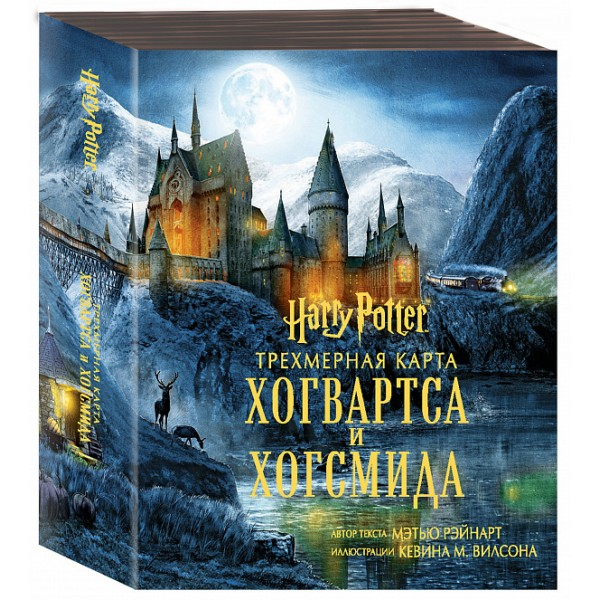 Трехмерная карта Хогвартса и Хогсмида, Гарри Поттер