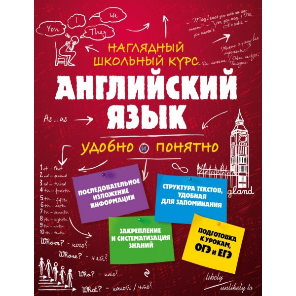 Английский язык. Наглядный школьный курс. А. А. Логвина