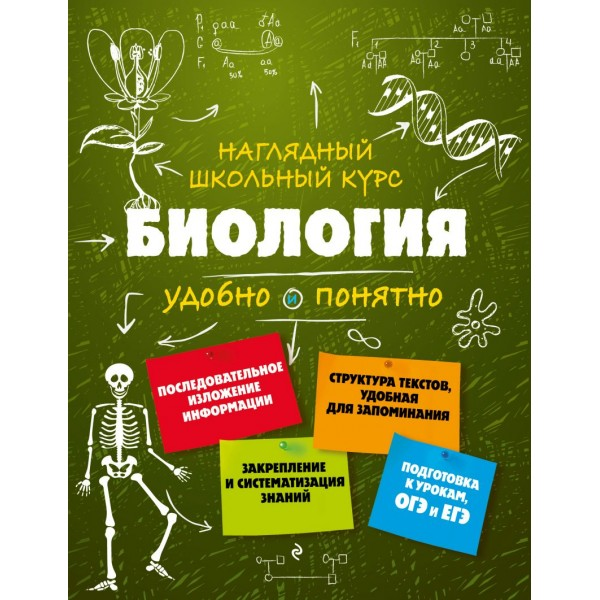 Биология. Наглядный школьный курс. О.Ч. Мазур, Т.В. Никитинская