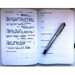 Космос. Agile-ежедневник для личного развития. Черная обложка. Катерина Ленгольд